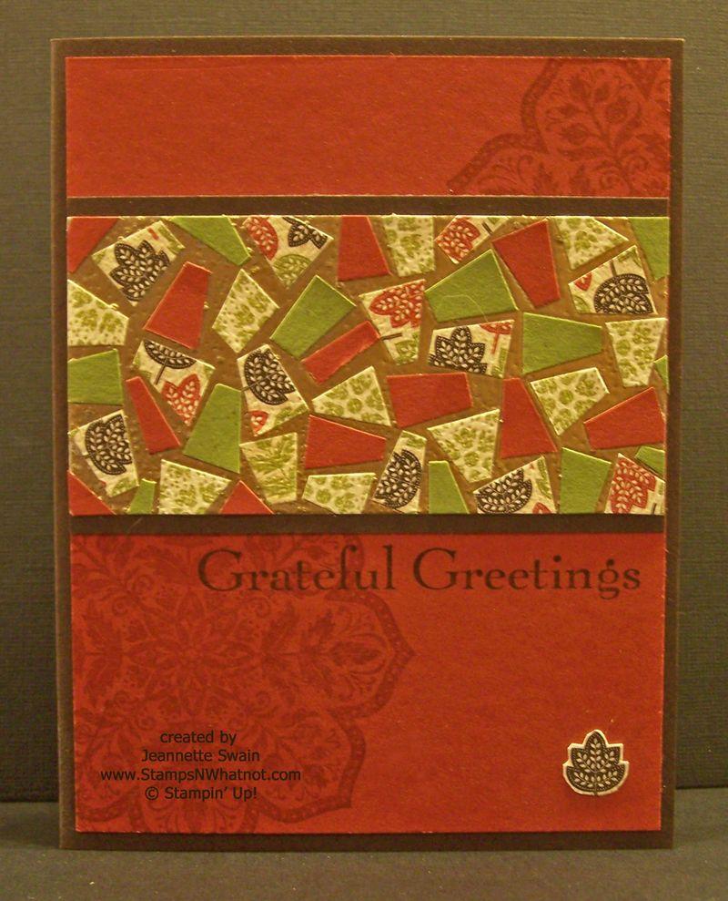 Day of Gratitude - Mosaic