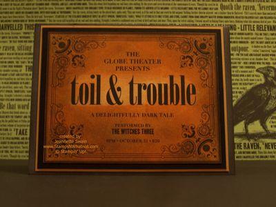 Toil & Trouble Outside