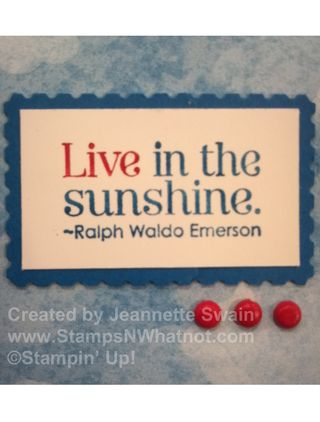 Live in the Sunshine-001