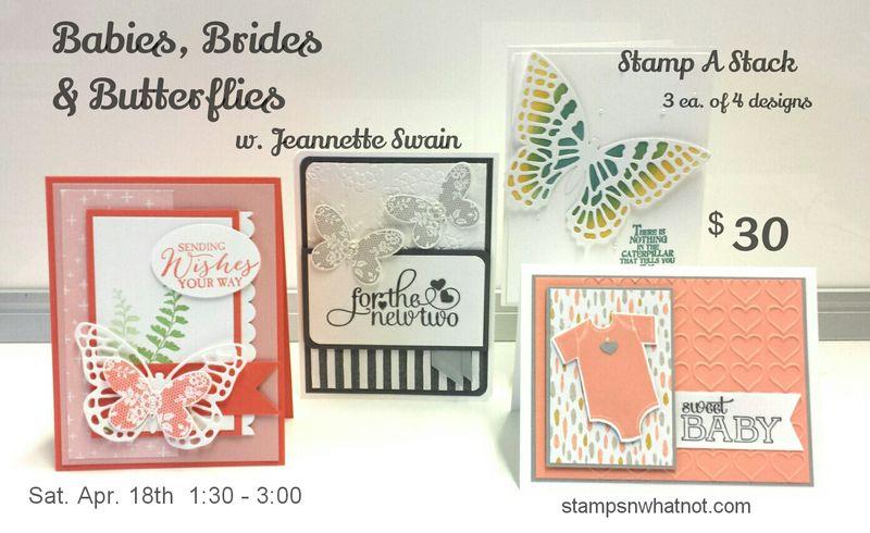 Babies Brides & Butterflies by Jeannette