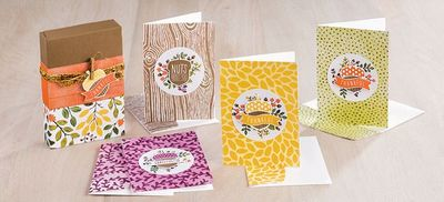 Nutty Note Card Class
