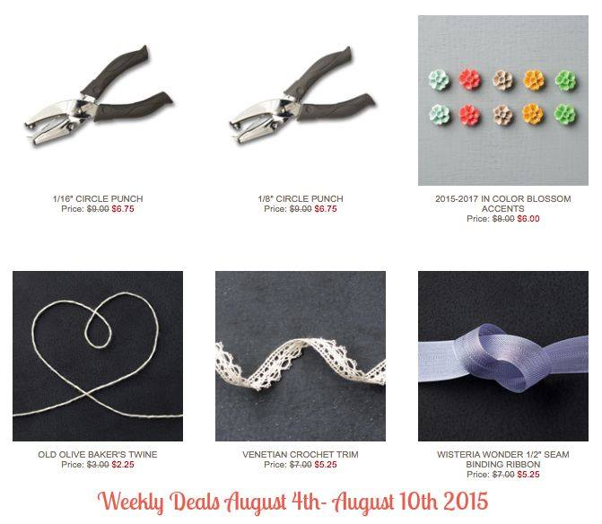 Weekly Deals Aug 4-10
