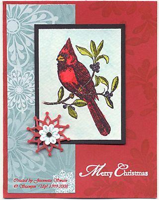 A Cardinal Christmas copy