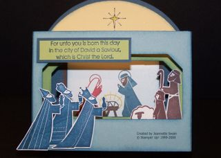 Nativity Scene closed