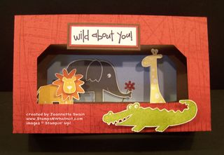 Wild About You Diorama
