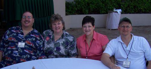 Gary, Me, Claudia, Robert