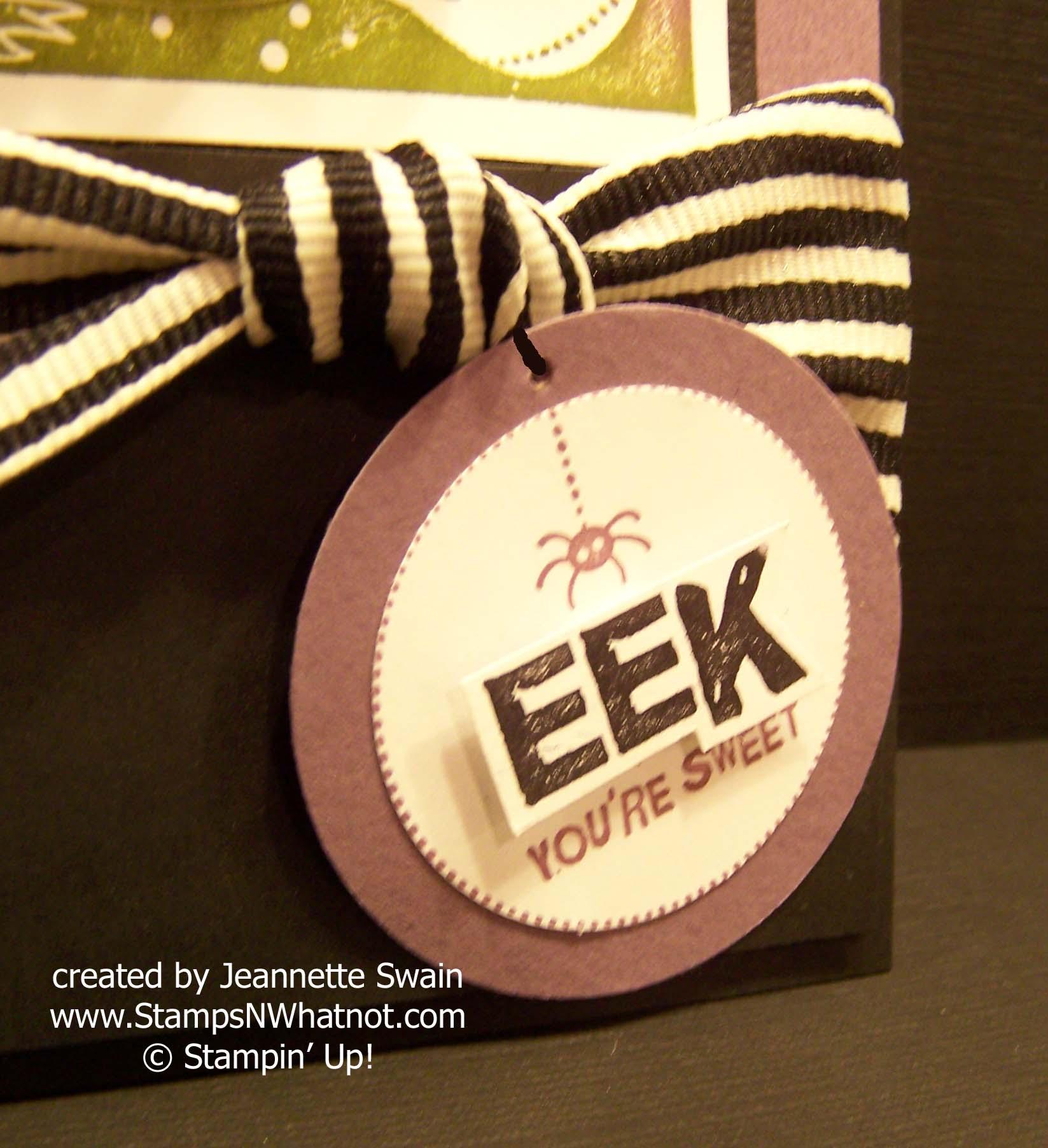 Eek Closeup