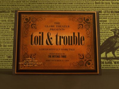 Toil & Trouble Outside