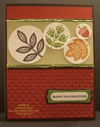 Day of Gratitude by Stampin Up #120835