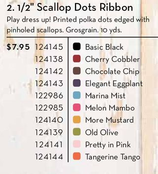 Colors Scallop Dots