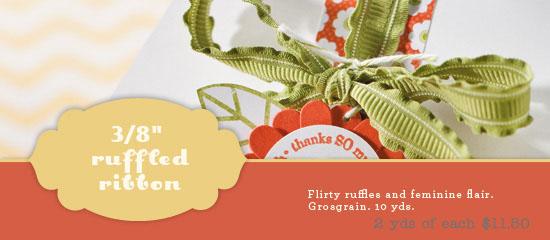 Ruffled Ribbon 11.50