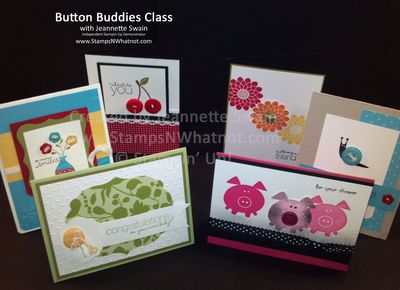 Button Buddies by Jeannette Swain