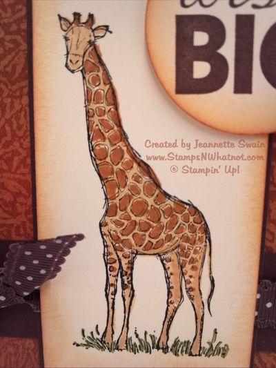 GiraffeCardCloseupStampsNWhatnot