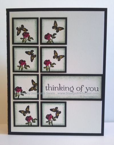 Collage Curios Thinking of You