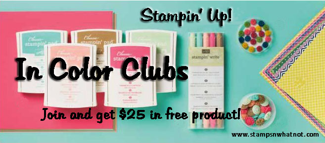 StampsNWhatnot's In Color Clubs