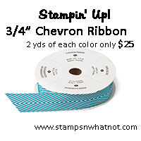 StampsNWhatnot's Stampin Up Chevron Share