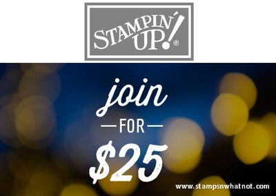 Join Stampin Up for $25