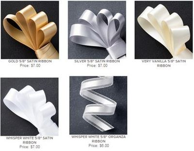 Stampin Up Satin and Organza Ribbon Share StampsNWhatnot
