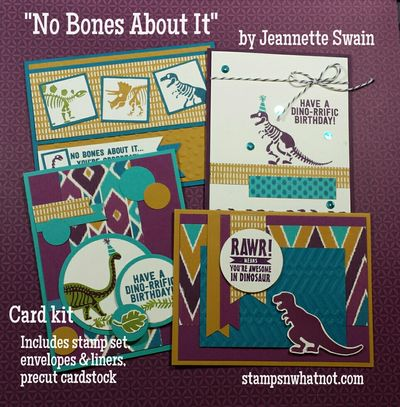 No Bones About It by Jeannette Swain