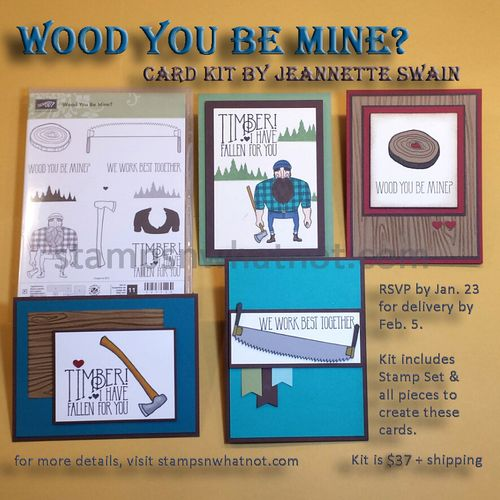 Wood You Be Mine by Jeannette Swain