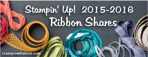 Stampin Up Ribbon Shares StampsNWhatnot