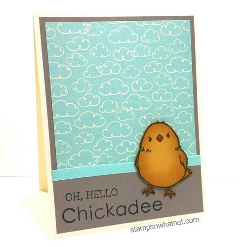 Oh Hello Chickadee