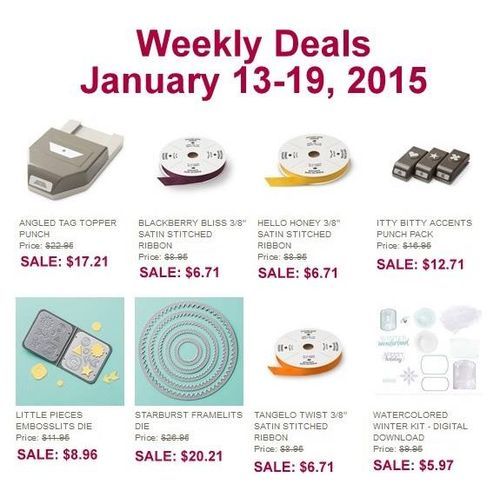 Weekly Deals Jan 13-19