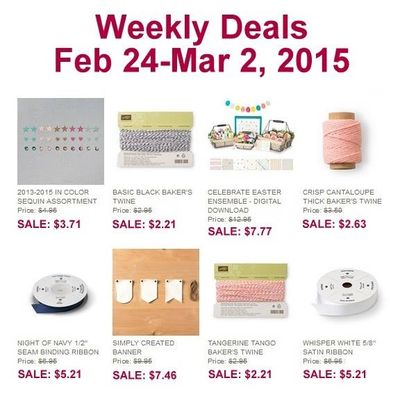 Weekly Deals Feb 24 - Mar 2